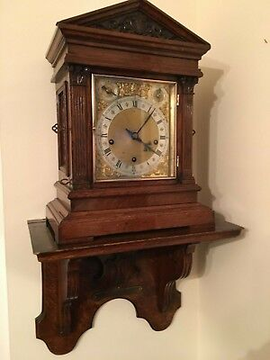Antique Bracket Clock By Winterhalder & Hofmeier