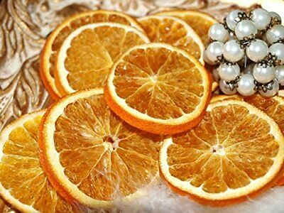 5 ORANGE SLICES Dried Fruit - CHRISTMAS CRAFT WREATH FLORIST DECORATION UK