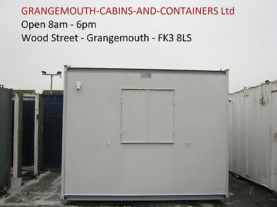 10ft x 8ft Anti Vandal Portable Cabin only £1895+vat site office security shed