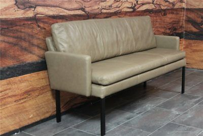 Machalke Design Bank.Tommy Machalke Colombo Sitzbank 174 Cm Leder Wild Anilin Taupe