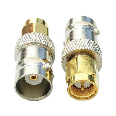 1pce BNC female jack to SMA female jack RF adapter connector ON JT