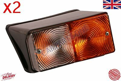 PAIR Ford Tractor Front Light Left Right 2600 3600 4100 4110 4600 New Holland
