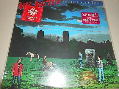 dischi vinile 33 giri-LP- mr mister welcome to the real world - 1985