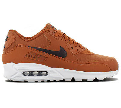 size 40 50d89 4887c Nike Air Max 90 Essential Baskets Hommes Chaussures de Sport AJ1285-203  Marron