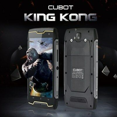 Cubot Kingkong Móvil Impermeable 2+16GB Android 7.0 13MP 4400mAh Smartphone 2SIM