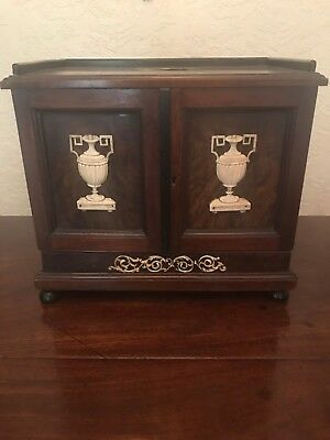 Military Antique Table Cabinet