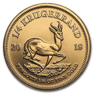 2018 South Africa 1/4 oz Gold Krugerrand - SKU#152632