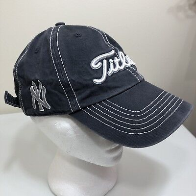 167a6b77094 Titleist New York Yankees Logo MLB Golf Hat OSFA Adult Strapback Adjustable  Men