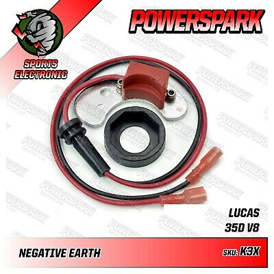 Rover SD1 P5 P6 Pre 1976 V8 Electronic Ignition Kit Powerspark early points set