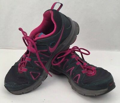 low priced dc6ee 0a151 NIKE Air Alvord 10 Women s Gray Pink Trail Running Shoes 512041-005 Size 7