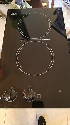 Appliances 12-Inch Summit CR2110 115V Electric Cooktop with 2 Burners