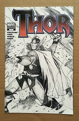 THOR #1 2007 Coipel Sketch Variant Edition VG