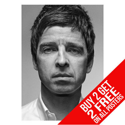 Noel Gallagher Oasis Poster Art Print A4 A3 Size -Buy 2 Get Any 2 Free