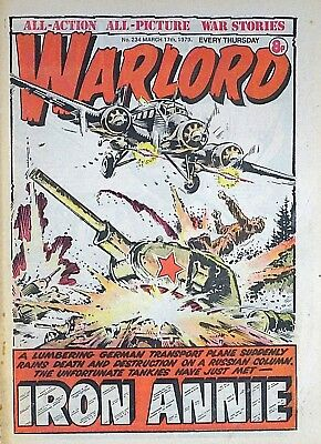 WARLORD - 17th MARCH 1979 (15 - 21 March) RARE 40th BIRTHDAY GIFT !! VG+..victor
