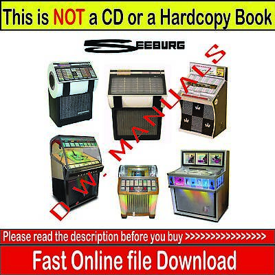 ORIGINAL SEEBURG STD3 Sunstar Juke Box - $850 00 | PicClick
