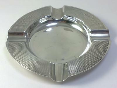 "Vintage hallmarked Sterling Silver 4"" Cigar Ashtray – 1959  (61g)"