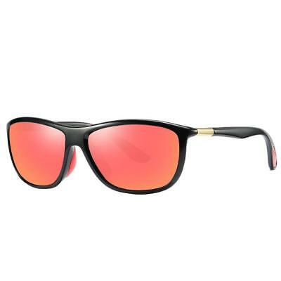 New Sport Running Cycling Mens Womens Unisex Black Polarized Sunglasses UV400