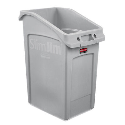 Rubbermaid 202672 Slim Jim Under-Counter Container, 23 Gallon, Green