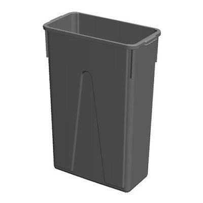 Kratos 23 Gallon Slim Trash Can, Brown