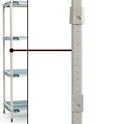 """MetroMax iQ Post 74""""H, for Use with Casters"""