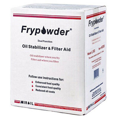Fry Powder Oil Stabilizer and Fryer Filter Aid 3 Gal. Pack, For All Fryer Types