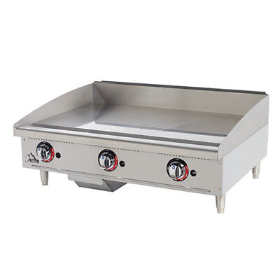"Star 624TF Commercial Griddle - Gas, Thermostat Controls 24""W"