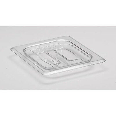 Cold Food Pan Cover with Handle Sixth-Size Camwear Pans, Black