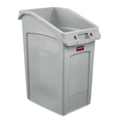 Rubbermaid 202672 Slim Jim Under-Counter Container, 23 Gallon, Black