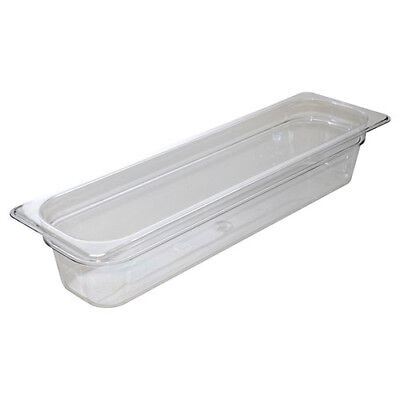 Cold Food Pan - Camwear, Half-Size Long, 5-5/16 Quart, Black