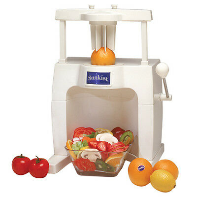 Sunkist Fruit and Vegetable Commercial Sectionizer Base, 6 Wedge