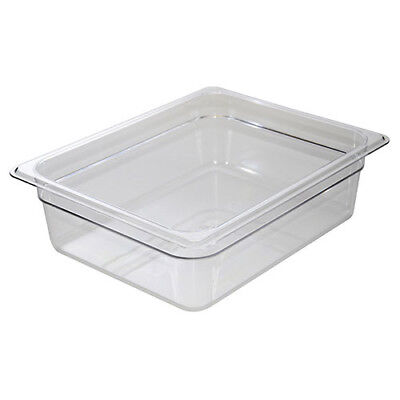 Cold Food Pan - Camwear, Half-Size, 4-1/8 Quart, Black