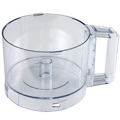 Replacement 3 Qt. Plastic Bowl for Commercial Food Processor, Clear