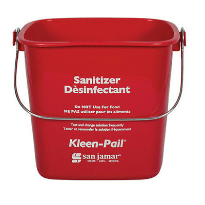Kleen-Pail Soap/Sanitizing Solution Safety Pail 6 Quart, Green