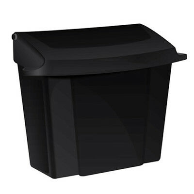 Alpine 451 Sanitary Napkin Receptacle, Black