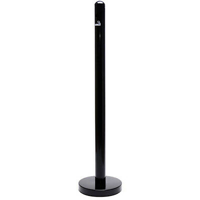 "Smokers' Pole, 15""Diam.x40""H, Black"