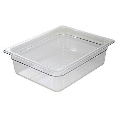 Cold Food Pan - Camwear, Half-Size, 9-3/8 Quart, Black