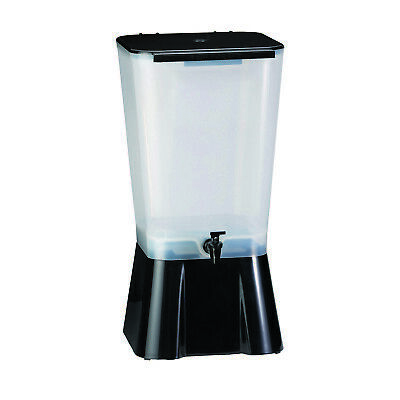 Tablecraft 1053 - 5 Gallon Iced Tea/Lemonade Dispenser, Black