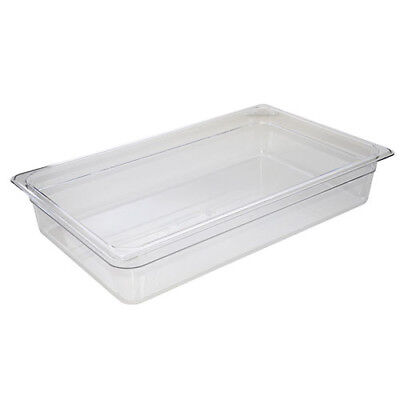Cold Food Pan - Camwear, Full-Size, 8-7/8 Quart, Black