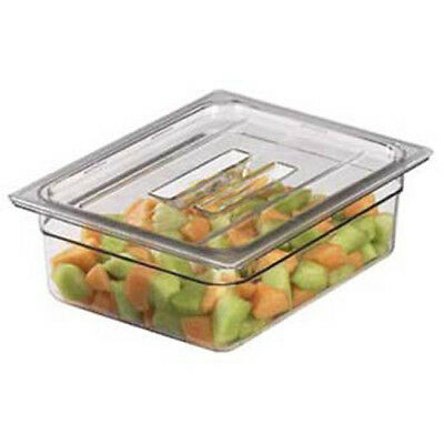 Food Pan Cover with Handle Half-Size Camwear Pans, Black