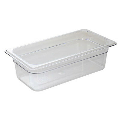 Cold Food Pan - Camwear, Third-Size, 5-5/8 Quart, Black