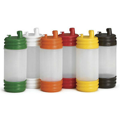 Tablecraft SaferFood Solutions PourMaster Dispenser, Low Profile Top Container