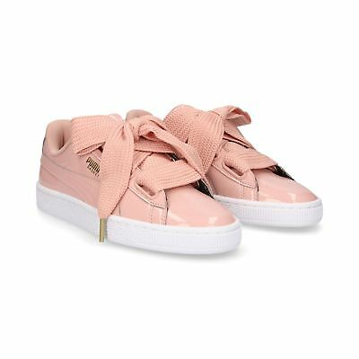 PUMA BASKET HEART Patent 363073 11 Womens Trainers~RRP £75~Sizes UK 3 to 8