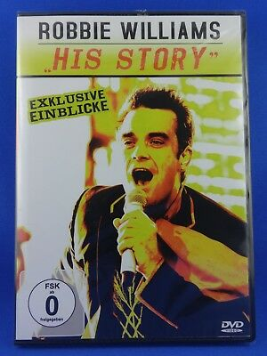 Robbie Williams HIS STORY DVD / Boygroup Take That Solokarriere Sänger Superstar