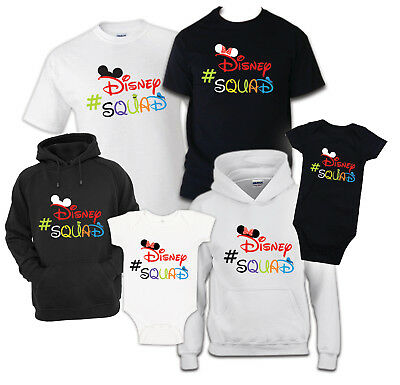 Disney Squad Family T-Shirt Vacation shirt 2019 matching reunion celebration tee