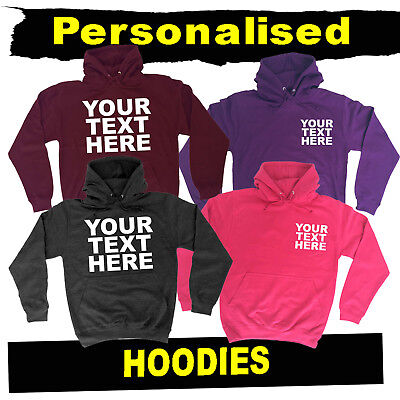 Personalised Work Company Premium Hoodies  Any Logo Custom Workwear Hoodie Hoody