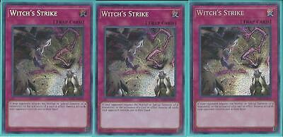 SAST-EN079 WITCH'S STRIKE – Secret Rare - 1st Edition, GET YOURS 1ST! IN STOCK!