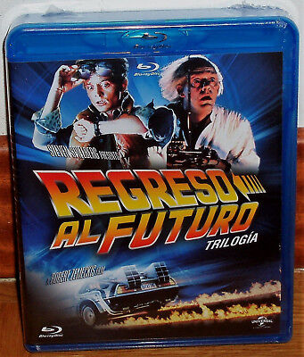 Trilogy Back To The Future Pack 3 Blu-Ray New Sealed Aventuras (Unopened)