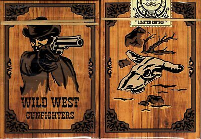 Wild West Gunfighters Playing Cards Poker Size Deck SPCC Custom Limited Editon