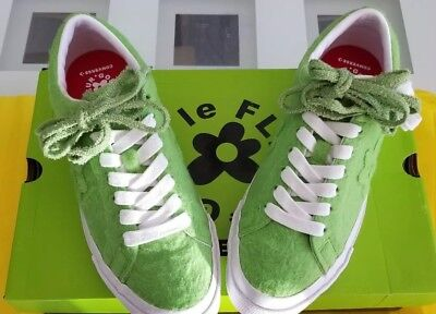 436adc14f87927 Converse One Star Golf Wang Tyler Le Fleur Grinch Green Sneakers Shoes 9.5 EU  43
