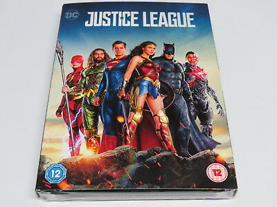 Justice League DVD Region 2 UK PAL * Brand New Sealed with outer slipcase *